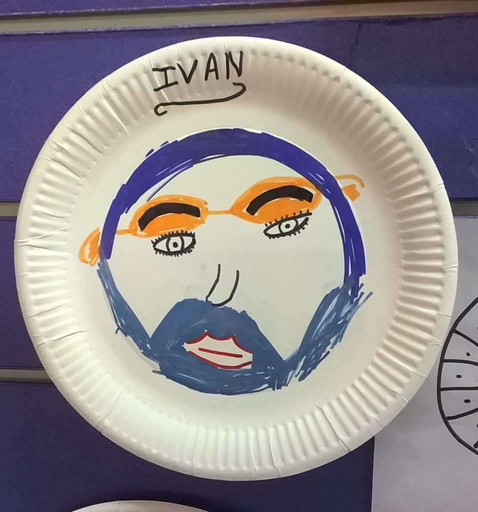 Portrait of Ivan by Kyra
