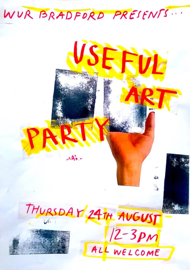 useful art party image